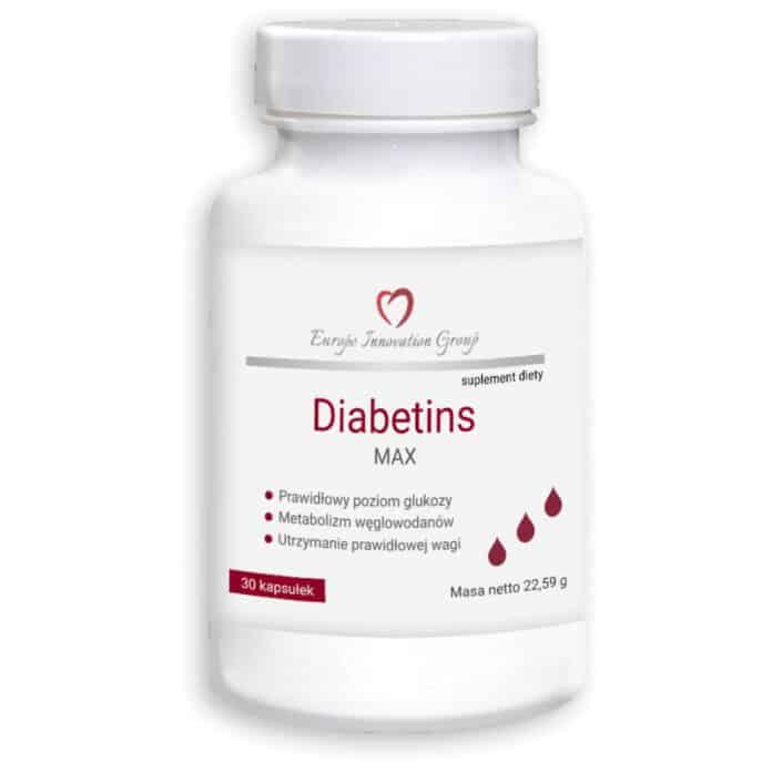 Diabetins Max kapsułki - opinie, składniki, cena, gdzie kupić?
